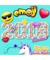 Cartoon kalender emoji 2018