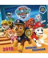 Cartoon kalender paw patrol 2018