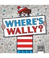 Cartoon kalender waar is wally 2018