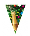 Champagne vlaggetjes