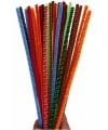 Chenilledraad kleuren 30 cm 30 stuks
