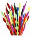 Chenilledraad kleuren gegolfd 30 cm 28 stuks