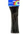 Chenilledraad zwart 30 cm 50 st