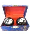 Chinese meridiaankogels 3 5 cm yin yang in kistje