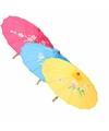 Chinese paraplu oranje 50 cm