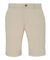 Chino short naturel voor heren