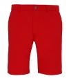 Chino short rood voor heren