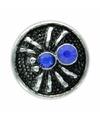 Chunk met spin blauw 1 8 cm