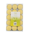Citronella theelichten 15 stuks