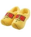 Clogs pantoffels gele klomp