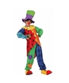 Clown stitches kostuum voor jongens