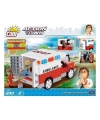 Cobi ambulance bouwstenen set