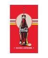Coca cola fles badlaken 70 x 120 cm