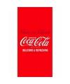 Coca cola logo badlaken 75 x 150 cm