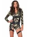Commando leger kostuum voor dames