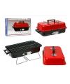 Compacte barbecue met deksel 43 x 28 cm