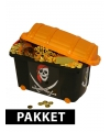 Compleet piraten schatkist pakket
