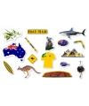 Confetti australie thema 300 gram