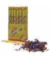 Confetti kanon gekleurde folie 50 cm