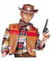 Cowboy hesje bruin voor kinderen
