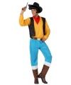 Cowboy lucky kostuum voor heren