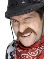 Cowboy snor bruin
