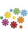 Crepla ponsdeeltjes bloemen zelfklevend