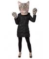 Cyperse kat verkleedset voor volwassenen