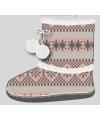 Dames pantoffels nordic roze