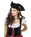 Dames piraten hoed