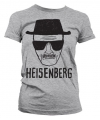 Dames t shirt breaking bad heisenberg grijs
