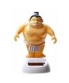 Dansende sumo worstelaar 10 cm solar