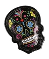 Day of the dead asbak zwart 10 cm