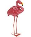 Decoratie flamingo 55 cm