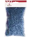 Decoratie gras blauw 50 gram