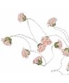 Decoratie led verlichting rozen 140 cm