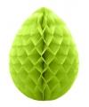 Decoratie paasei groen 30 cm