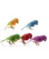 Decoratie papegaai 30 cm geel