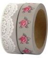 Decoratie tape 2 rollen