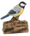 Decoratie vogel koolmees 12 5 cm