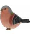 Decoratie vogeltje vink 17 cm