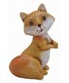 Decoratie vos staand 11 cm