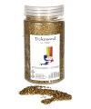 Decoratie zand goud 500 gram