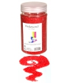 Decoratie zand rood 500 gram