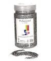 Decoratie zand zilver 500 gram