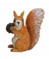 Decoratief eekhoorn beeldje 7 cm type 1