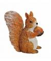 Decoratief eekhoorn beeldje 7 cm type 3
