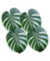 Decoratieve palm bladeren 4 stuks