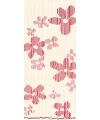 Deurgordijn houten kralen bloemen 220 cm
