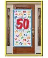 Deurposter 50 jaar